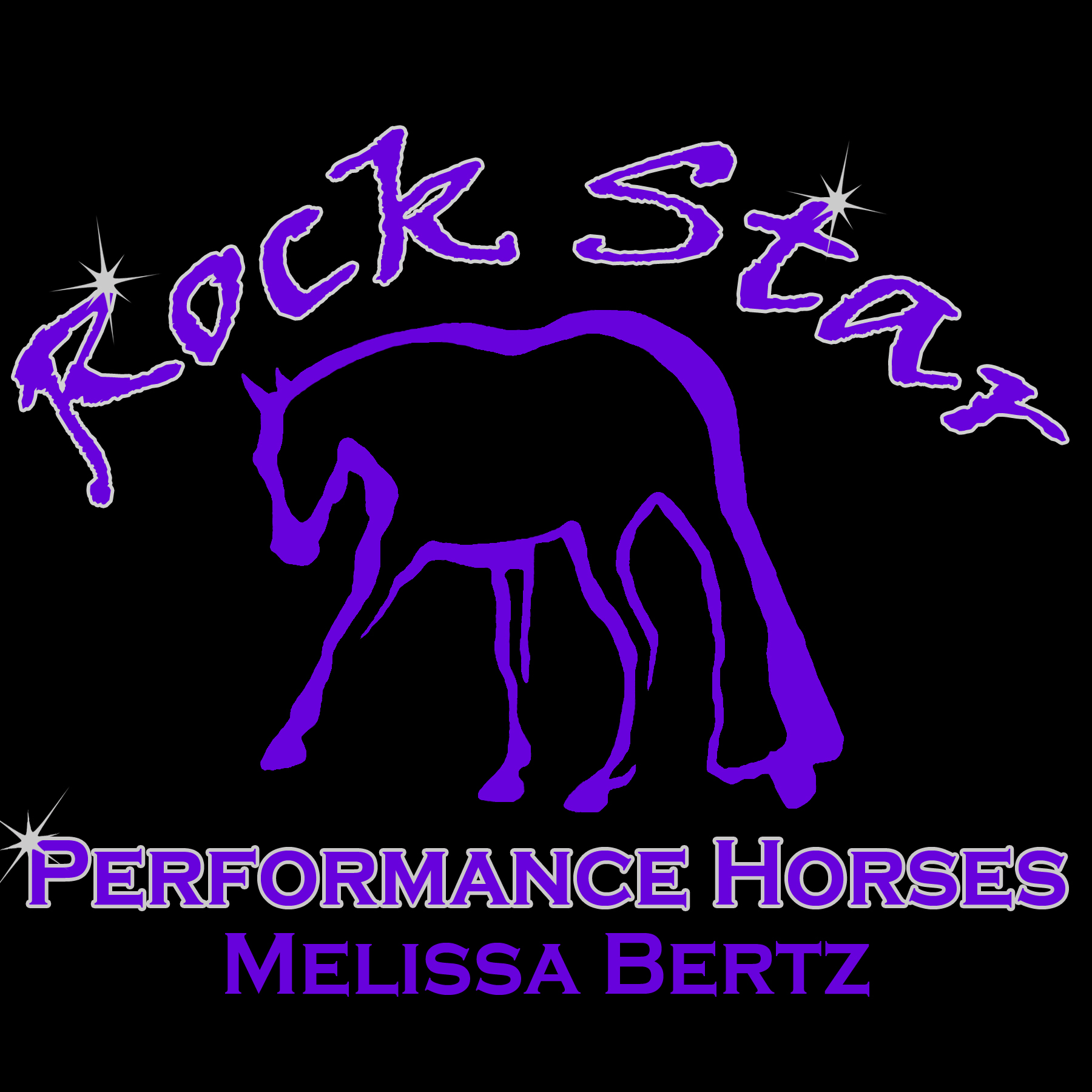 Rock Star Performance Horses 2013 Logo